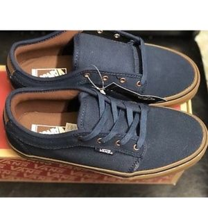 Vans Shoes - Vans Chukka Low Rich Navy Gum Shoes Size Youth 4.5